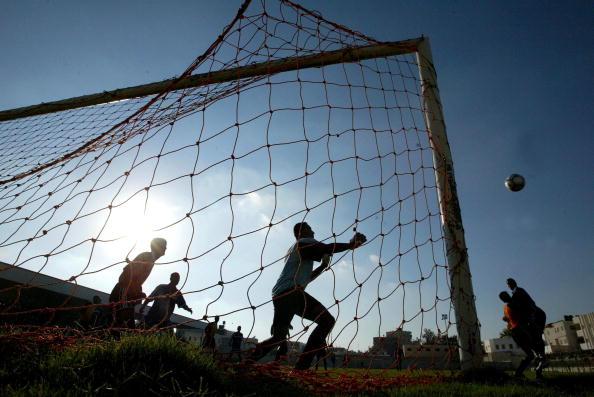 Rafah「Palestinians Organize Soccer Clubs」:写真・画像(7)[壁紙.com]