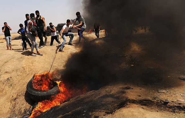 Money to Burn「Tensions In Gaza Remain High After Continuous Border Clashes With Israel」:写真・画像(10)[壁紙.com]