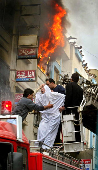 Apartment「Ten People Injured By A Raging Fire In Gaza」:写真・画像(11)[壁紙.com]