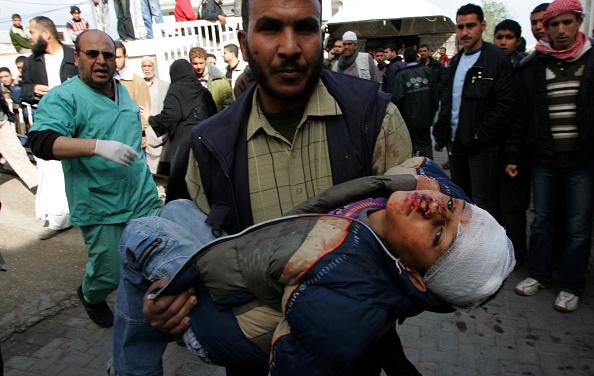 Gaza Strip「Israeli Air Raids Strike At Gaza」:写真・画像(16)[壁紙.com]
