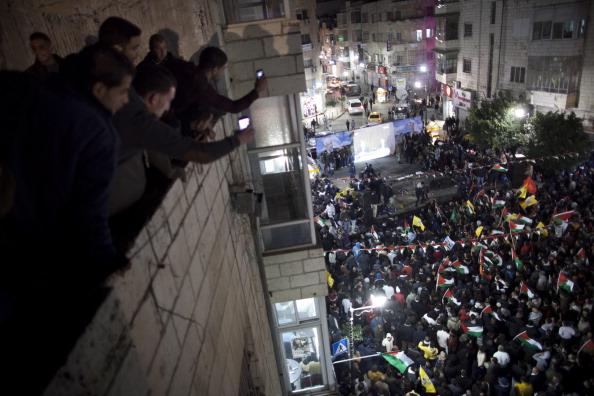 West Bank「Palestinians Celebrate U.N. Vote」:写真・画像(9)[壁紙.com]