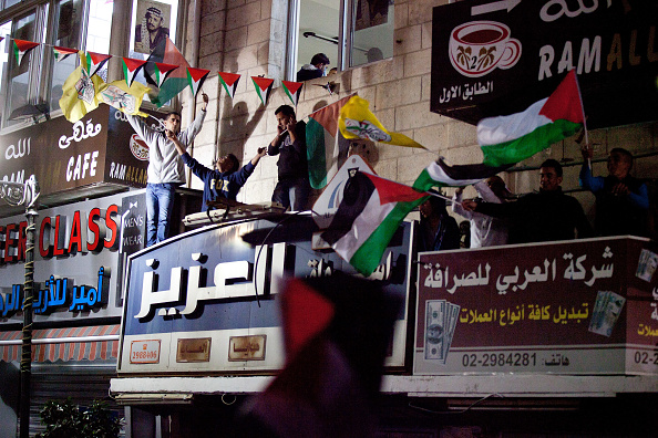 West Bank「Palestinians Celebrate U.N. Vote」:写真・画像(6)[壁紙.com]
