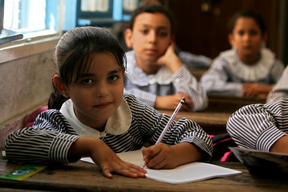 First Day Of School「Palestinian Students Start New Academic Year」:写真・画像(14)[壁紙.com]