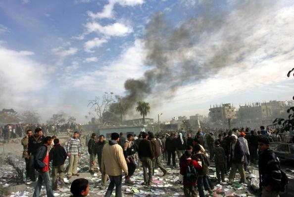 Gaza Strip「Israeli Air Raids Strike At Gaza」:写真・画像(13)[壁紙.com]