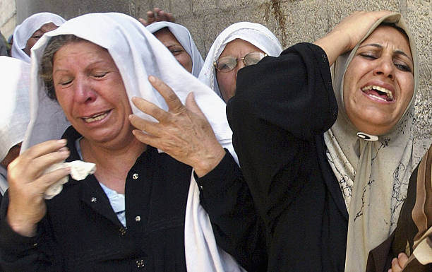 Palestinians Bury The Dead From Latest Israeli Strike:ニュース(壁紙.com)
