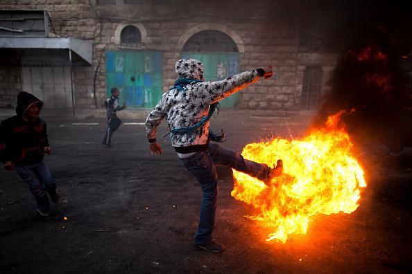 West Bank「Riots Continue Over PM Netanyahu's Natyioanl Heritage Plan」:写真・画像(6)[壁紙.com]
