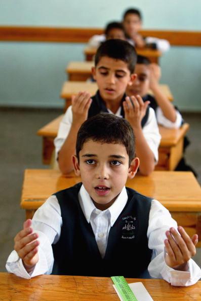 First Day Of School「Palestinian Students Begin New School Year」:写真・画像(17)[壁紙.com]
