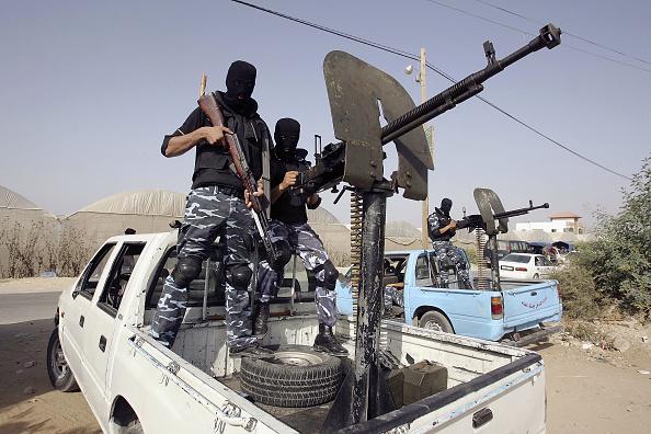 Deir Al-balah「Palestinian Police Work To Prevent Militant Rockets Amid Fresh Violence」:写真・画像(3)[壁紙.com]