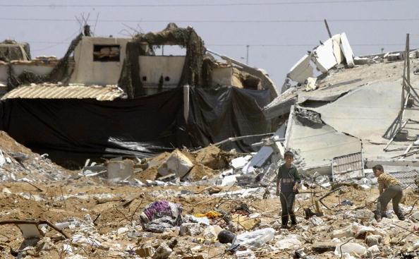 Construction Equipment「GZA: Palestians Inspect Damage Caused By Israeli Bulldozers」:写真・画像(14)[壁紙.com]