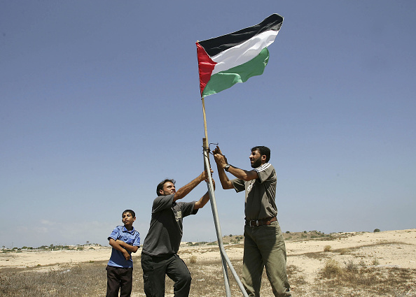 Clear Sky「Fatah Activists Celebrate Israeli Pullout Near Jewish Settlement In Rafah」:写真・画像(16)[壁紙.com]