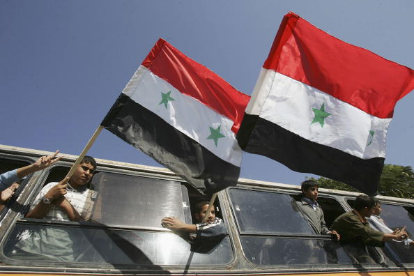 star sky「Palestinians Hold Pro-Syrian Demonstration」:写真・画像(17)[壁紙.com]