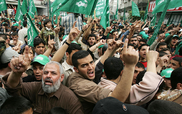 Mid Adult Men「GZA: Thousands Attend Hamas Rally In Gaza」:写真・画像(18)[壁紙.com]