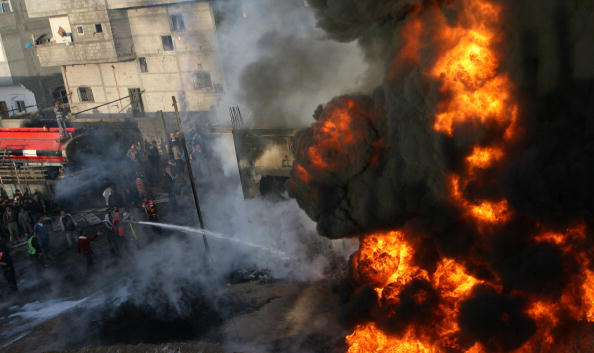 Gaza Strip「Israel Launches Further Raids on Gaza」:写真・画像(9)[壁紙.com]