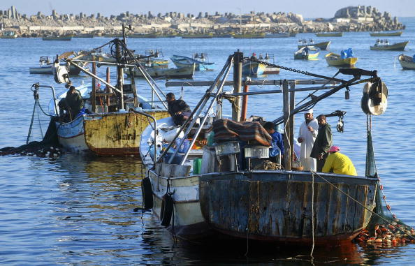Geographical Locations「Fishing Industry Remains Central To Economy Of Gaza Strip」:写真・画像(4)[壁紙.com]