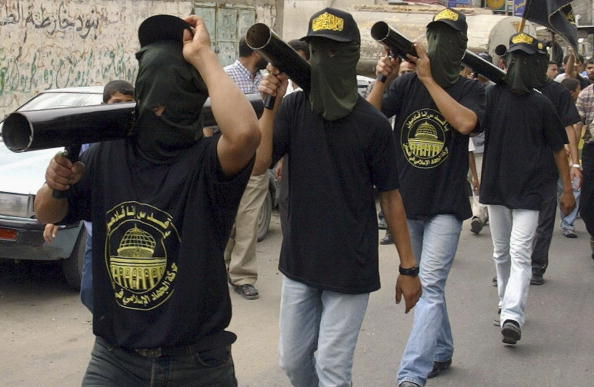Homemade「Palestinian Militants Show Strength Of Arms At Funeral」:写真・画像(9)[壁紙.com]