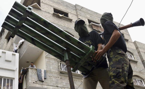 Homemade「Palestinian Militants Show Strength Of Arms At Funeral」:写真・画像(10)[壁紙.com]