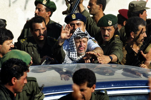 Gaza Strip「Palestinian Leader Yasser Arafat's Return」:写真・画像(6)[壁紙.com]