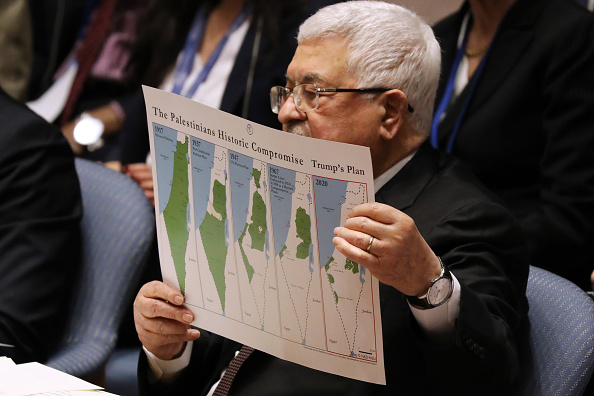 Palestine「Palestinian President Abbas Goes To United Nations To Address Trump's Peace Plan」:写真・画像(4)[壁紙.com]