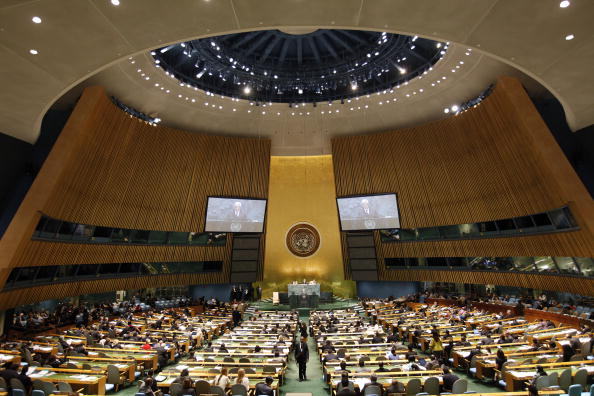 United Nations Building「Gathering Of World Leaders At U.N. General Assembly Continues」:写真・画像(9)[壁紙.com]