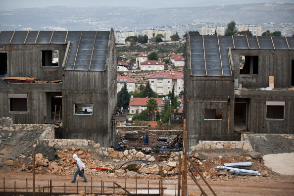 West Bank「Construction Continues As West Bank Settlement Debate Rages」:写真・画像(9)[壁紙.com]