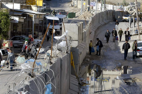West Bank「Graffiti Appears On Israel's Separation Wall」:写真・画像(13)[壁紙.com]