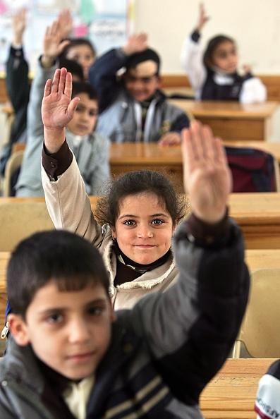 Deir Al-balah「Palestinian Children Study At The Dar Al-Arqam School」:写真・画像(16)[壁紙.com]