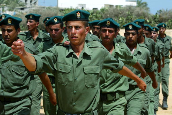 Part of a Series「Palestinian Soldiers Graduate」:写真・画像(5)[壁紙.com]