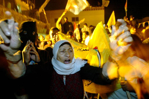 Human Arm「Palestinians Rally To Support Arafat In Gaza 」:写真・画像(7)[壁紙.com]