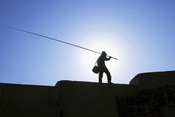 Clear Sky「Palestinian Fishermen Work In Gaza」:写真・画像(1)[壁紙.com]