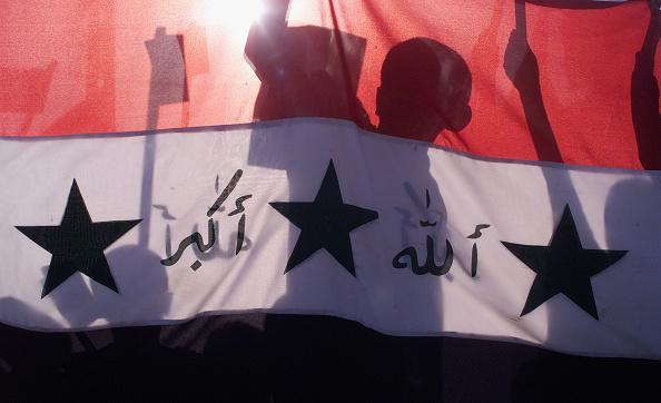 Human Arm「Thousands of Iraqi Palestinians Demonstrate Over Yassins Death」:写真・画像(9)[壁紙.com]