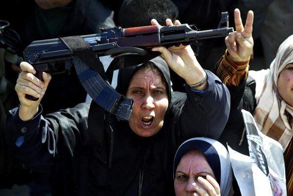 Abid Katib「The Palestinian mark the 39th anniversary of the Fatah Movement」:写真・画像(1)[壁紙.com]