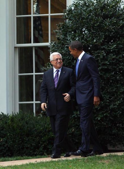 Alex Wong「Obama And Palestinian Leader Abbas Meet Ahead Of Mideast Peace Talks」:写真・画像(17)[壁紙.com]