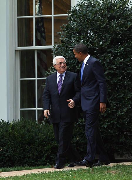 Obama And Palestinian Leader Abbas Meet Ahead Of Mideast Peace Talks:ニュース(壁紙.com)