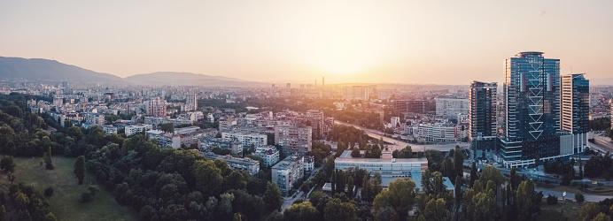 Bulgaria「Eastern Europe,drone point of view」:スマホ壁紙(6)