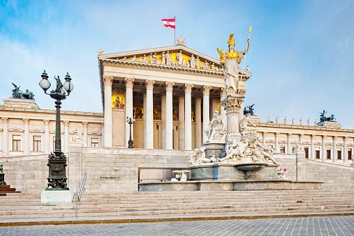 Government Building「Austrian Parliament Building」:スマホ壁紙(13)