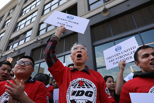 Employment And Labor「App-Based Drivers Hold Strike Across The  U.S.」:写真・画像(0)[壁紙.com]