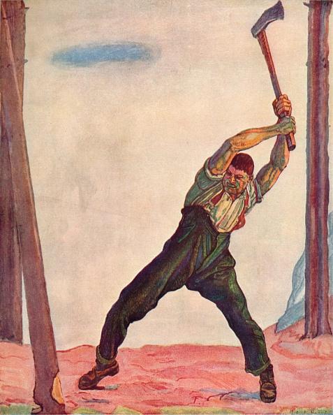 Copy Space「The Woodcutter」:写真・画像(14)[壁紙.com]
