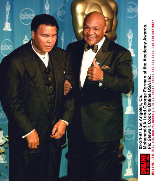 George Foreman「Ali & Foreman At The Academy Awards」:写真・画像(2)[壁紙.com]