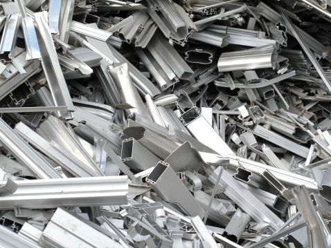 Recycling「Scrap metal pieces laying in a pile」:スマホ壁紙(3)