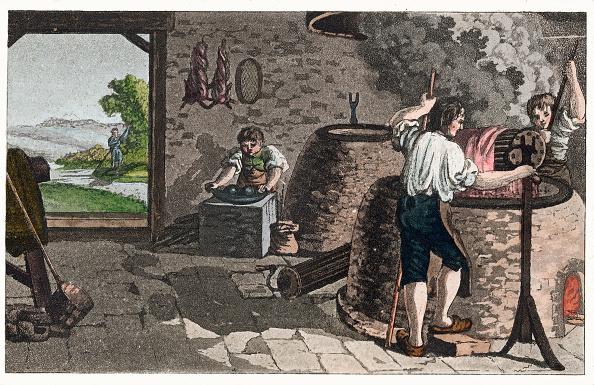 Perfection「Professions: From: Gallerie Der Vorzüglichsten Künste. Zürich  Leipzig. Colored Lithograph. 1820.」:写真・画像(13)[壁紙.com]