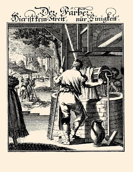 Dye「Professions - Dyer. Etching By Christoph Weigel. From: Abbildung Der Gemein-Nuetzlichen Haupt-Staende . Regensburg 1698.」:写真・画像(6)[壁紙.com]
