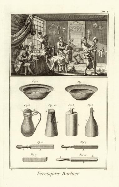Wig「Professions - Periwig Maker. Etching. From Diderot Dálembert. Encyclopedie Ou Dictionnaire Raisonne Des Sciences Des Art Et Des Metiers. Livorno. 1771.」:写真・画像(16)[壁紙.com]