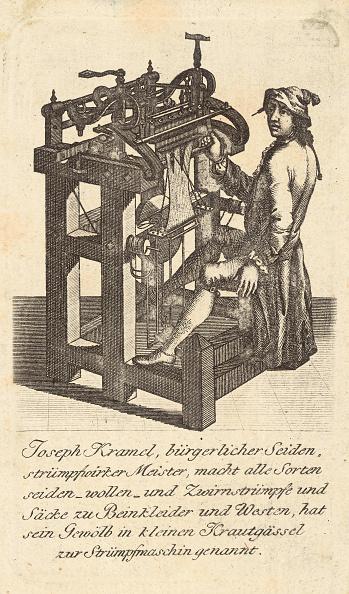Hosiery「Professions - Businnes Card Of The Company Joseph Kramel (Stocking Producer). Vienna. Austria. About 1790. Copper Engraving.」:写真・画像(7)[壁紙.com]