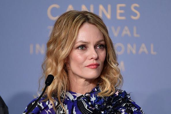 """Vanessa Paradis「""""Knife + Heart (Un Couteau Dans Le Coeur)"""" Press Conference - The 71st Annual Cannes Film Festival」:写真・画像(1)[壁紙.com]"""