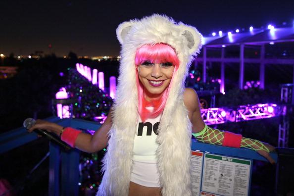 Pink Hair「Electric Run Los Angeles Hosted By Vanessa Hudgens」:写真・画像(17)[壁紙.com]