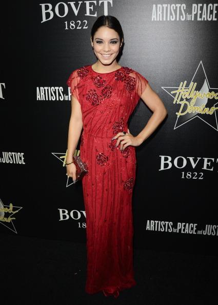 ヴァネッサ・ハジェンズ「7th Annual Hollywood Domino And Bovet 1822 Gala Benefiting Artists For Peace And Justice - Red Carpet」:写真・画像(15)[壁紙.com]