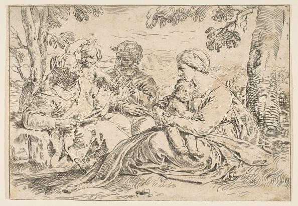 John The Baptist「Holy Family With Saint Elizabeth And Saint John The Baptist」:写真・画像(17)[壁紙.com]