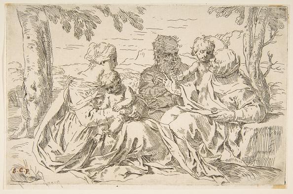 John The Baptist「Holy Family With Saint Elizabeth And Saint John The Baptist」:写真・画像(15)[壁紙.com]
