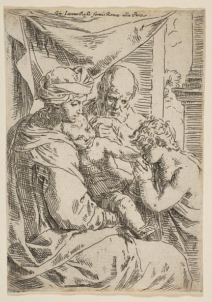 John The Baptist「Holy Family With Saint John The Baptist Kissing The Infant Christs Hand」:写真・画像(6)[壁紙.com]