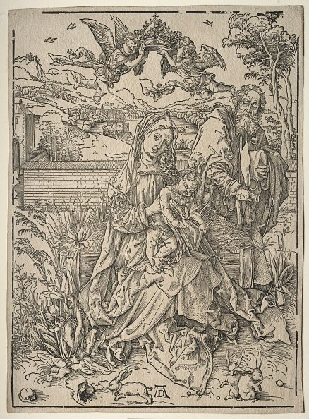 Hare「Holy Family With The Three Hares. Creator: Albrecht Dürer (German」:写真・画像(17)[壁紙.com]